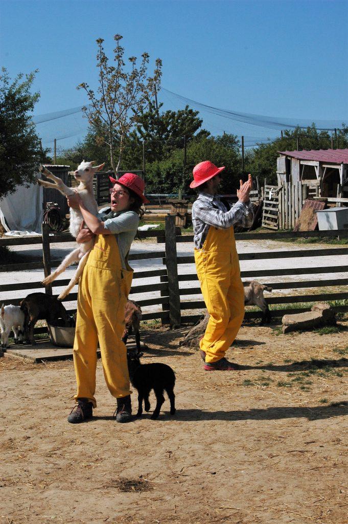 Tiligolo et Tiligolotte nous ont appris à traire des chèvres !